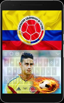 Keyboard For James Rodríguez---Colombia poster