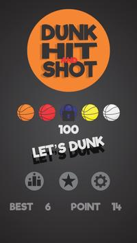 Dunk Hit and Shot poster