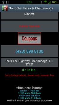 Gondolier Pizza @ Chattanooga screenshot 1