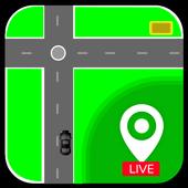 GPS Navigation : Best Fastest Route Finder icon