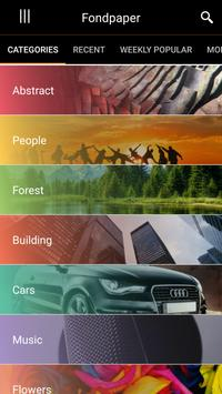 4K HD Wallpapers and Backgrounds Fondpaper apk screenshot