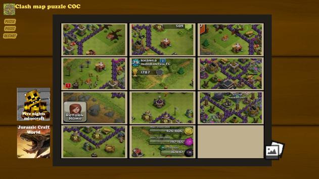 Map puzzle for coc descarga apk gratis arcade juego para android map puzzle for coc captura de pantalla de la apk gumiabroncs Images