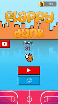 Flappy Dunk Ball poster