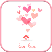 lovelove go sms theme icon