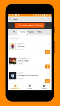 SoundLoadR for SoundCloud apk screenshot