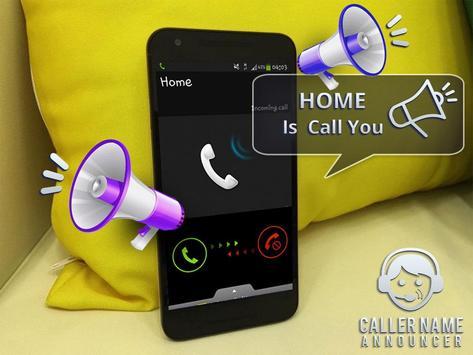 Caller Name Announcer – Incoming Call apk screenshot