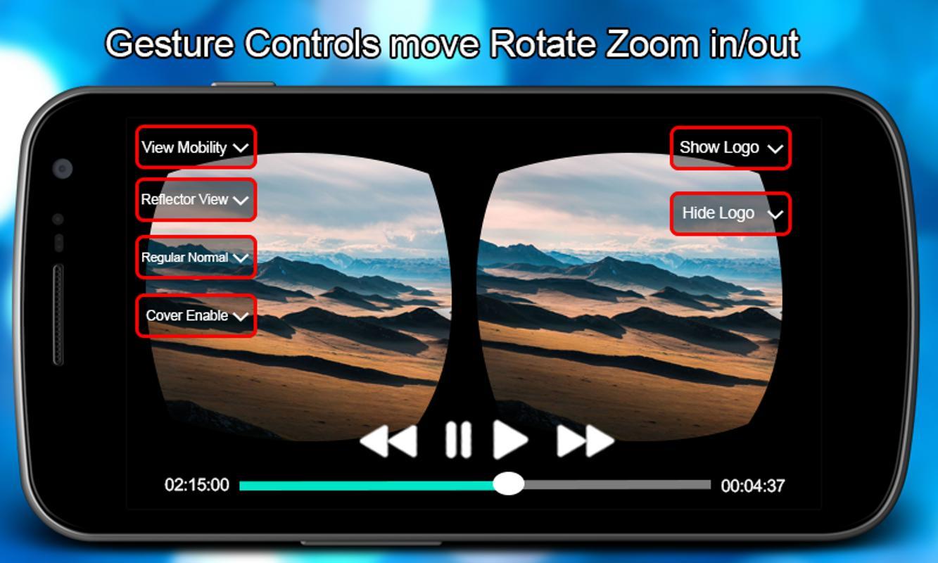 Vr video player pro apk baixar grtis reproduzir e editar vdeos vr video player pro apk imagem de tela ccuart Images