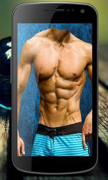Men Six Pack Abs Photo Editor screenshot 2