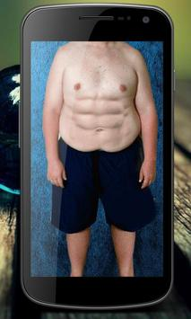 Men Six Pack Abs Photo Editor screenshot 7