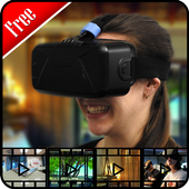 3D VR Video Player HD icon