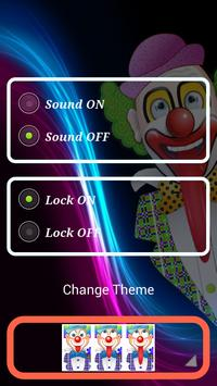 Circus joker Lock Screen screenshot 15
