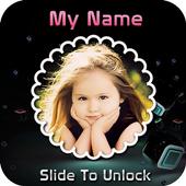 My Name & Photo Lock Screen icon