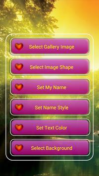 My Name & Photo Lock Screen poster