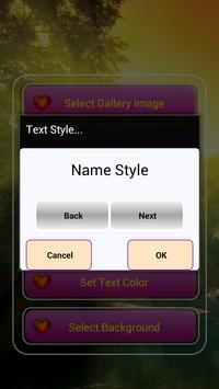 My Name & Photo Lock Screen screenshot 2