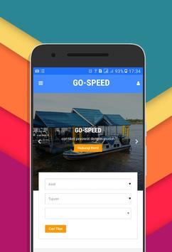 GO-SPEED - Cara Mudah Pesan Tiket Speedboat Online poster