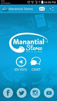 Manantial Stereo poster