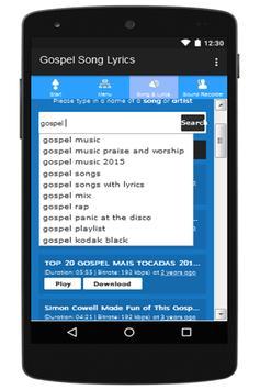 Gospel Song apk screenshot