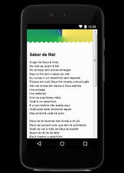 Gospel Damares Letras apk screenshot