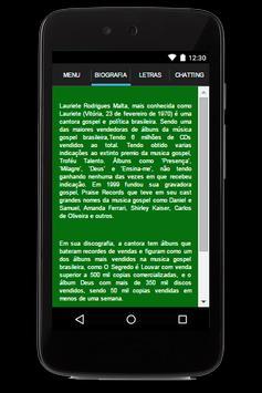 Gospel Lauriete Letras screenshot 1