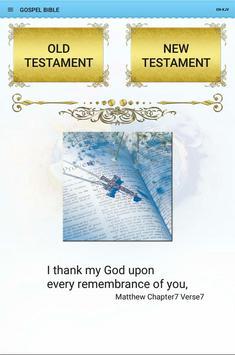 GOSPEL BIBLE screenshot 8
