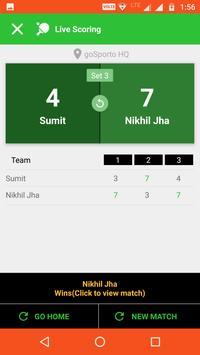 goSporto: Scores & Stats | Supports Smart Watch screenshot 3