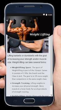 Weight Lifting apk screenshot