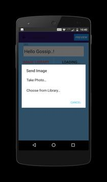 Gossip - Express Anonymously apk screenshot