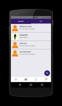 Gossip - Express Anonymously screenshot 2