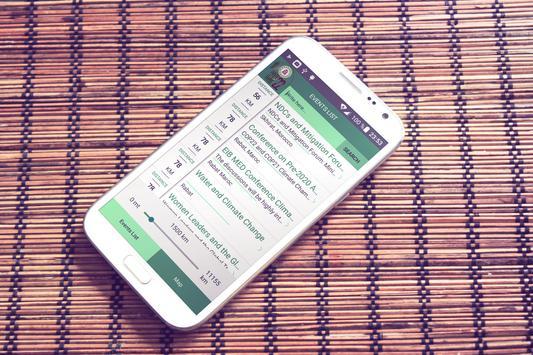 Cop23 Agenda apk screenshot