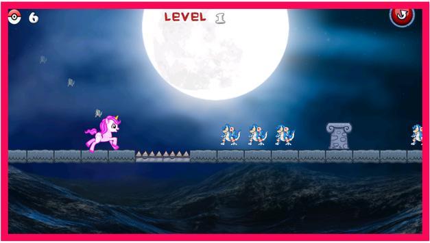 Cute Unicorn Poke Catch apk screenshot
