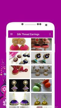 Silk Thread Earrings Offline poster