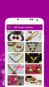 Silk Thread Jewellery Offline poster