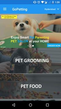 GoPetting-Trusted Pet Services screenshot 1