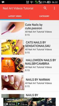 Nail Art Videos Tutorial poster