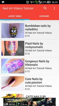 Nail Art Videos Tutorial apk screenshot
