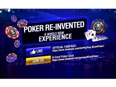 8-Card Poker poster