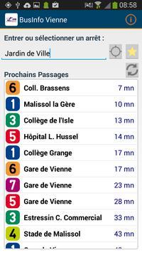 BusInfo Vienne apk screenshot