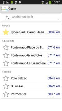 BusInfo Saumur screenshot 2