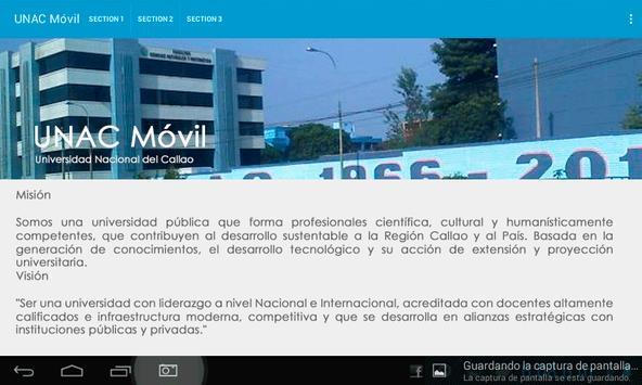 UNAC apk screenshot