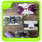 Creative Halloween Paper Bags icon