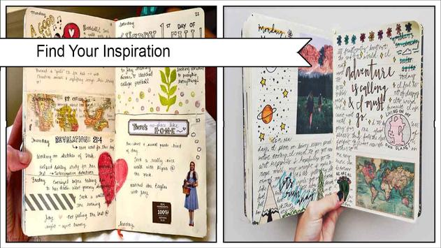 Awesome DIY Journal Ideas poster