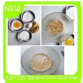 Easy DIY Banana Foot And Hair Mask icon