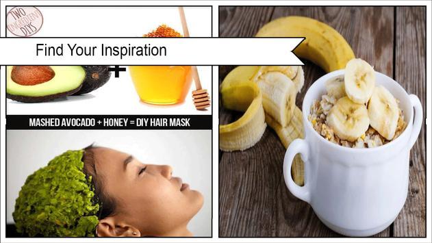 Easy DIY Banana Foot And Hair Mask poster
