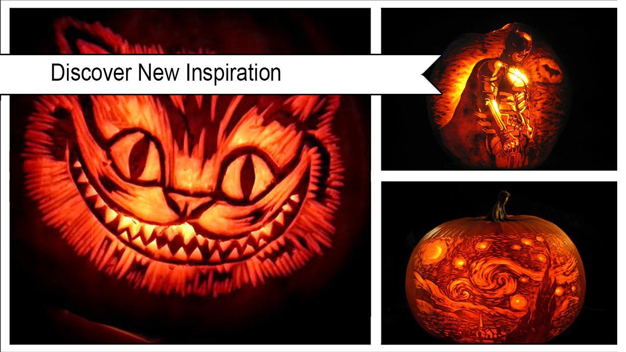 Spooky Pumpkin-Carving Designs poster