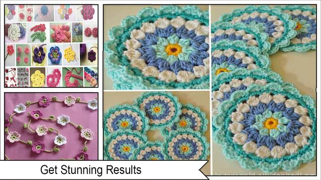 Pretty Crochet Flowers Step by Step screenshot 3
