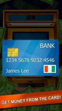 Bank ATM Cash Simulator apk screenshot