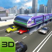 China Elevated Bus Simulator icon