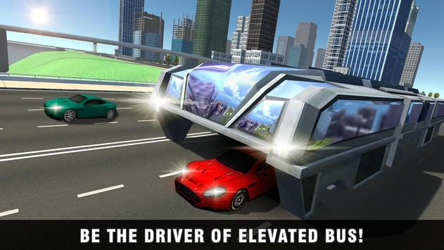 China Elevated Bus Simulator poster