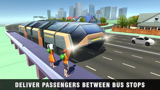 China Elevated Bus Simulator screenshot 2