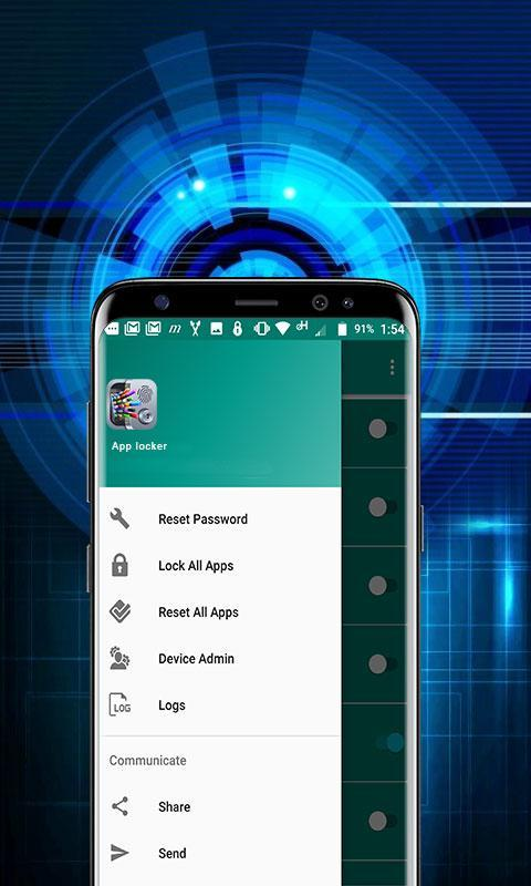 App Lock Android - Fingerprint, Pattern, Pin Code for Android - APK